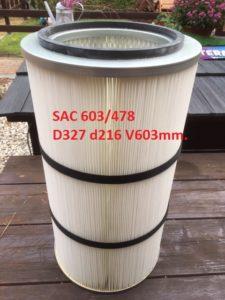 filtr SAC 603 478 327x216x603mm.